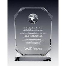 Prêmio de Placa de Cristal Oxford Globe (NU-CW819)