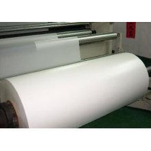 Rolo de filme branco plástico opaco do PVC de Matt para a impressão Silk-Screen