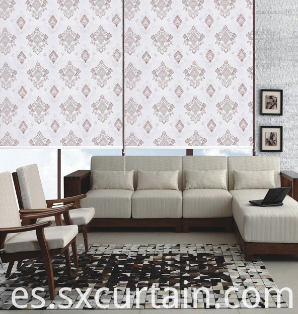 Roller Jacquard Blind Curtain Shade