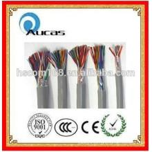 Interior / al aire libre 0.4mm-0.5mm Multipair Cables de la comunicación Multi Cores Cable de teléfono 20/25/30/50/100/200/300 pares