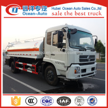 Dongfeng 12000liter water tanker truck dismension