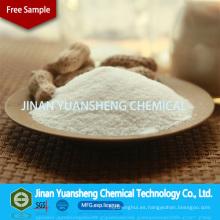 Producción industrial de sal sódica de ácido glucónico para aditivos químicos