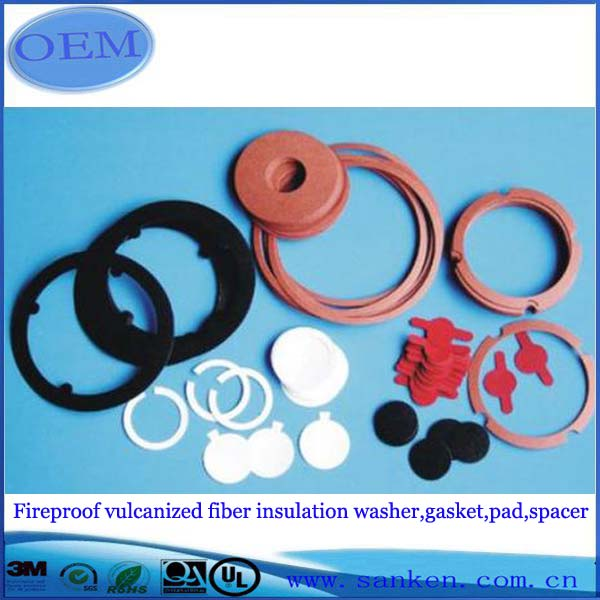 fireproof vulcanized fiber insulation washer,gasket,pad,spacer