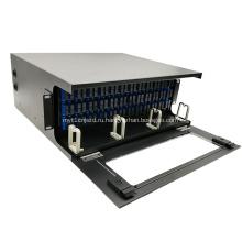 144 волокна 4U высокой плотности ODF монтируется в стойку оптически распределительная рамка