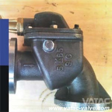 Marine Cast Iron/Ductile Iron/Wcb/Lcb/Wc9 Angle Storm Valve From Wenzhou