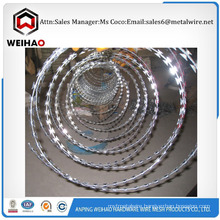 quality galvanized steel razor barbed wire