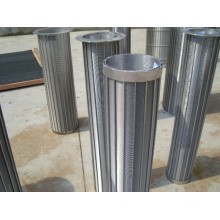 Reversed Profile Wedge Wire Screen Cylinder