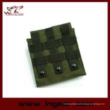 Molle táctico de Airsoft M4 doble bolsa del compartimiento para bolsa de Mag al aire libre