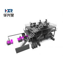 machine de tissu filtrant non tissé en polypropylène noir