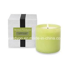 Hochwertige natürliche duftende Soja-Party-Kerze im Glas