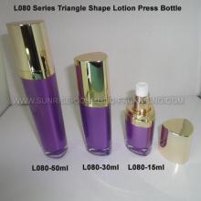 Треугольник форму фиолетовый крем пресс флакон 15 мл 30 мл 50 мл