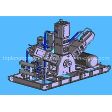 Oil Free Pet Blowing High Pressure Air Compressor (Hw-0.6 / 60 60bar)