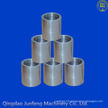 Customized precision stainless steel sleeve, stainless steel threaded sleeve
