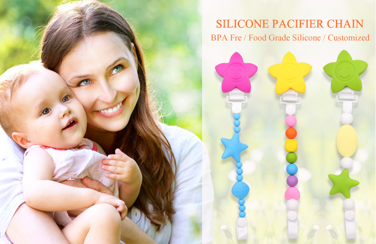 Silicone Teether Clip