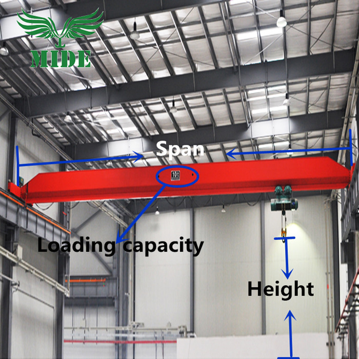 Single girder electric Crane