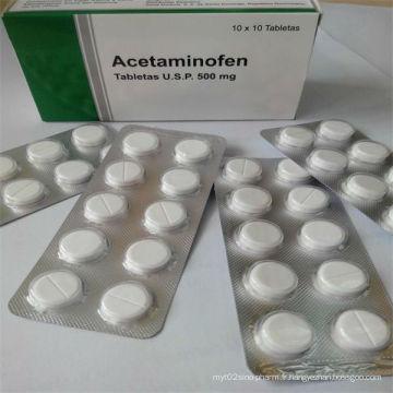 Tablette OEM 500mg Paracétamol
