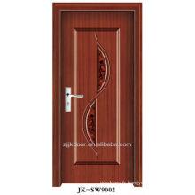 Porte en bois en acier de haute qualité