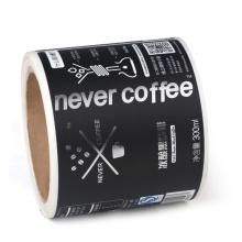 Adesivos de etiqueta de embalagem de saco de café personalizado OEM
