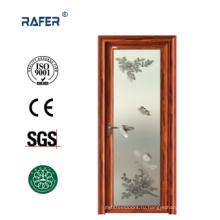 Матовая стеклянная алюминиевая дверь (РА-G117)