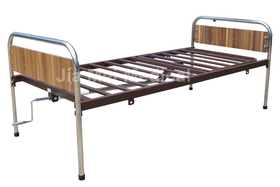 single crank nursing bed