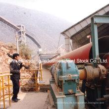 Kraftwerks-Materialhandhabungs-Rohr-Gurtförderer