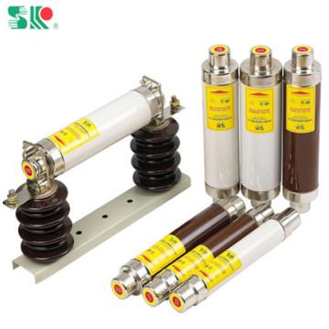 Fusível cerâmico de alta voltagem para proteção de rede elétrica