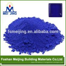 pigment pour verre bleu foncé haute température pigment grand stock en Chine