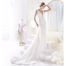 Элегантный Кружева Бисероплетение Русалка Свадебное Платье Свадебное