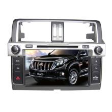 2din carro DVD Player apto para Toyota Prado 2014 com rádio TV estéreo de Bluetooth GPS sistema de navegação