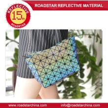 hot selling fashion rainbow reflective female bag