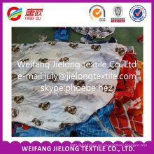Tela al por mayor de la acción de la tela de China Fashion para la sábana