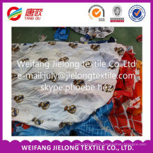 Wholesale China Fashion stock polyester fabric for bedsheet