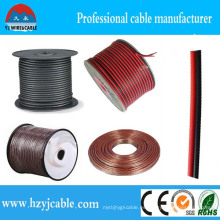 2 * 0.75mm2 Cable de cobre revestido del PVC de los núcleos gemelos del cobre puro