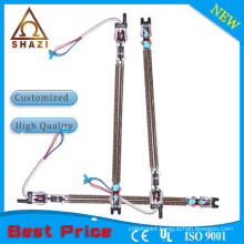 finned electric heating element for winter warmer