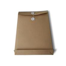 Impressão de bolso personalizada do arquivo de papel Kraft especializado