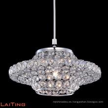 2016 lámpara moderna para colgante de araña de cristal barato de luz