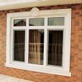 Fenêtre ronde upvc fixe avec prix usine de haute qualité
