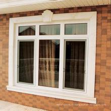 Fenêtre ronde upvc fixe de haute qualité