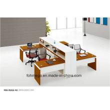 Meuble de bureau en bois Partition de bureau pour poste de travail