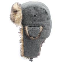 2014 Winter Fake Fur Earflap Cap (GKD27-004)