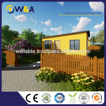 (WAS1012-36S) Chine Light Steel Structure Prefab House Bungalow