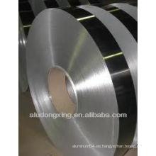 Precio de China chapa de acero revestida de aluminio 8011