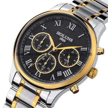 Swiss Automatic Stainless Steel Men′s Wrist Watch