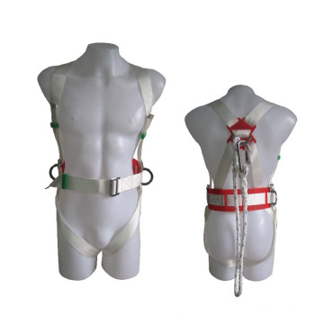 Good Quality Industrial Polyester Working Full-Body Adjustable Safety Harness Belt