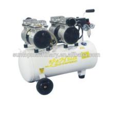 50L 0.55KW dentaire à faible bruit compresseur d'air sans huile