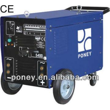 CE soudeur AC / DC avec roues 250/300/400 / 500amp modèle B / machine industrielle / machine à souder portable à bas prix prix / soudure