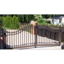 Ornamental Steel Tubular Assembling Fence Gate