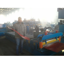 2016 Corrugated Iron Roofing Sheet Roll Forming Machine