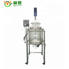 50L 80L 100L High quality Chemical laboratory vacuum filter jacketed glass Reactor