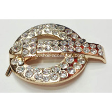 Rhinestone Embellished Shoe Clips